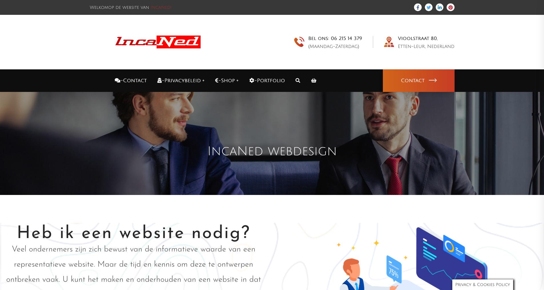 IncaNed webdesign